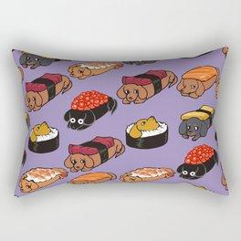 Sushi Daschunds Rectangular Pillow
