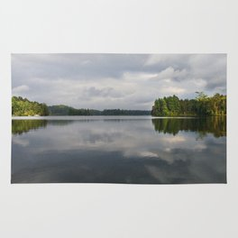 St. Regis pond in NY Rug