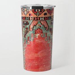 Sivas  Antique Cappadocian Turkish Niche Kilim Print Travel Mug