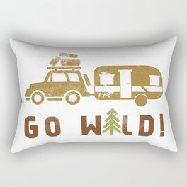 Camping Go Wild Rectangular Pillow