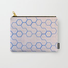 Honeycomb overload Carry-All Pouch