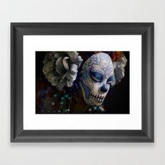 Berry Harvest Muertita Detail Framed Art Print