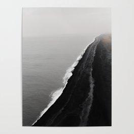 BLACK SAND BEACH Poster