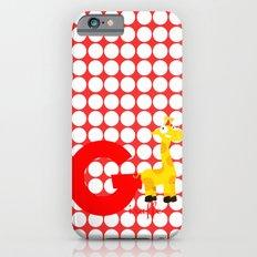 g for giraffe iPhone 6s Slim Case