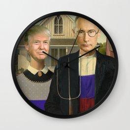 Make America Gothic Again Wall Clock