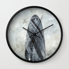 Gherkin, London  Wall Clock