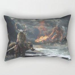 The Swarthy One Rectangular Pillow