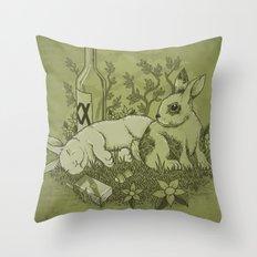 Easy Lover Throw Pillow