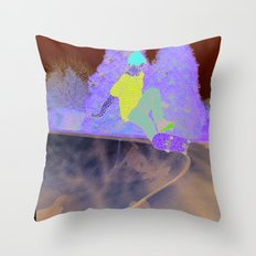 Skater Throw Pillow