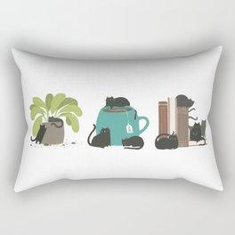 CATS + THINGS Rectangular Pillow