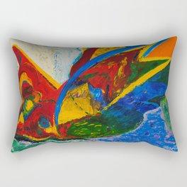 Flight to freedom Rectangular Pillow