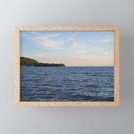 Waiting for Sunset Framed Mini Art Print