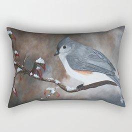 A Tuft Winter Rectangular Pillow