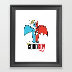 Goodboy Framed Art Print