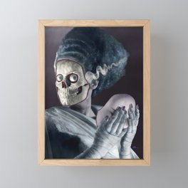 Bride without a Face Framed Mini Art Print