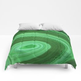 Green Agate Comforters