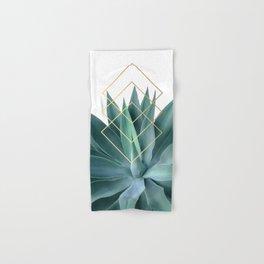 Agave geometrics Hand & Bath Towel