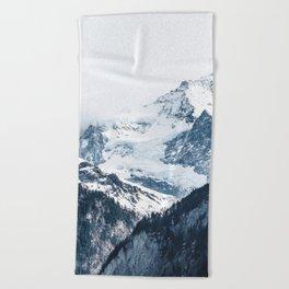Mountains 2 Beach Towel