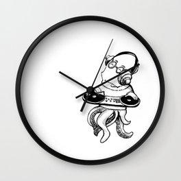 OCTO DJ Wall Clock