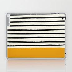 Fall Pumpkin x Stripes Laptop & iPad Skin