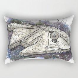 Falcon of the Stars Rectangular Pillow