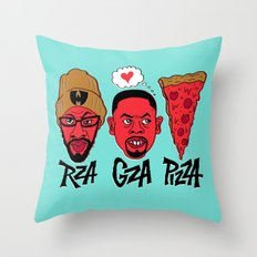 RZA, GZA, PIZZA Throw Pillow
