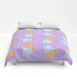 French Fry Pattern Comforters