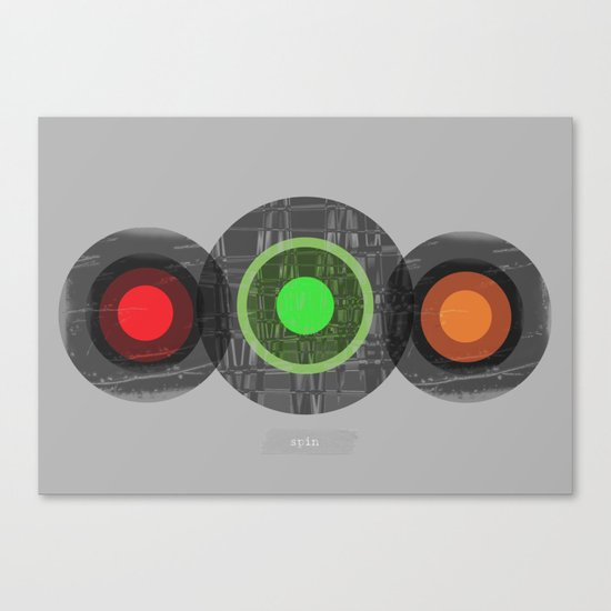 SPIN Canvas Print