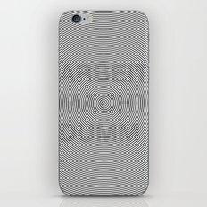 ARBEIT MACHT DUMM illusion iPhone & iPod Skin