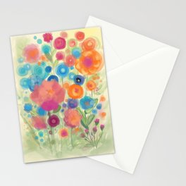 Flower Power Garen by Odette Lager Stationery Cards