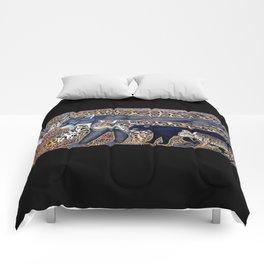 Big cats of Costa Rica Comforters