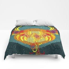 Fire Phoenix Comforters