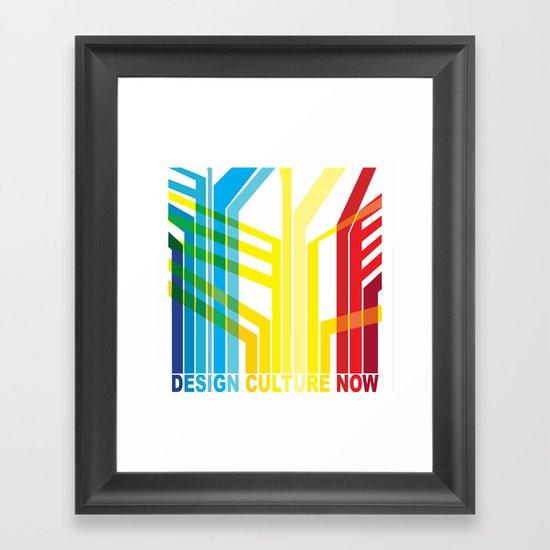 Design Culture Framed Art Print