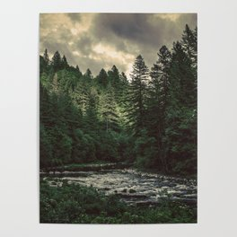 Pacific Northwest River - Nature Photography Poster