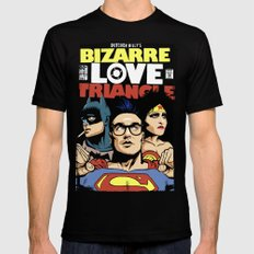 Bizarre Love Triangle: The Post-Punk Edition Black Mens Fitted Tee X-LARGE