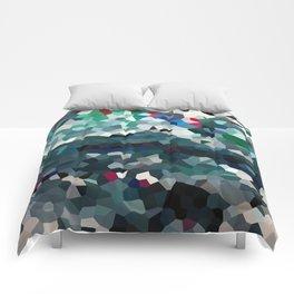 Emerald Sea Green Moon Love Comforters