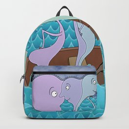 We Are All In The Same Boat Backpack