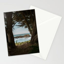 Sea Ranch Beach Lookout Printable Wall Art | California Nature Ocean Coastal Travel Photography Print Stationery Cards