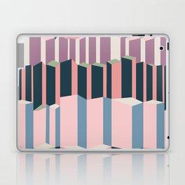 Straight Geometry City 1 Laptop & iPad Skin