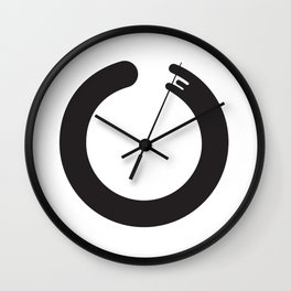 Zen Enso circle Wall Clock