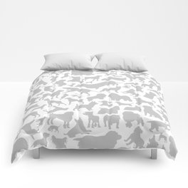 Dog a background Comforters