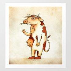 Vaca Art Print