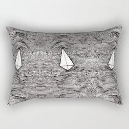 Paper Planes. By Ane Teruel Rectangular Pillow