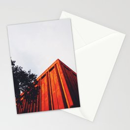 New York Orange Stationery Cards