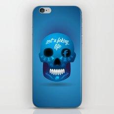 Get fcking life iPhone & iPod Skin