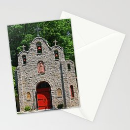 Lourdes University-  Portiuncula  Chapel in the Spring I Stationery Cards