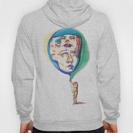 Floating Faces Hoody