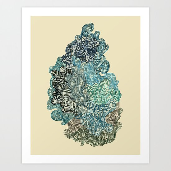 Friday Afternoon Art Print