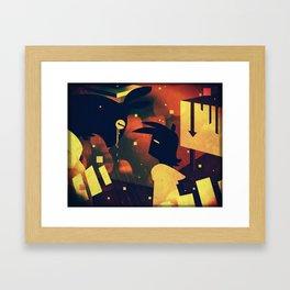 Devurnos Framed Art Print
