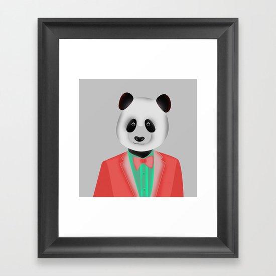 Upp till dans Framed Art Print